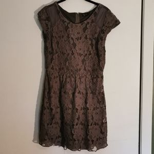🚨 2 for $30 💘 Ruby Rox Grey lace dress - S